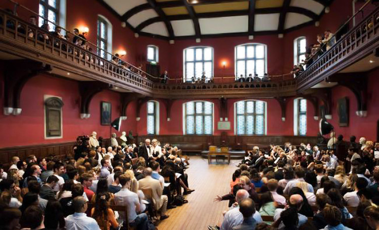 Oxford Union debate